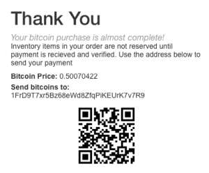Accept bitcoin with PayStand