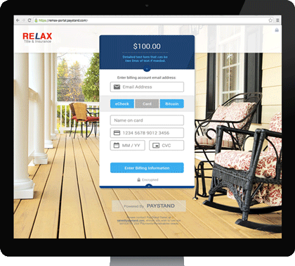 Billing Payment Portal