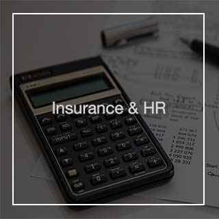 Payments for Insurance and HR