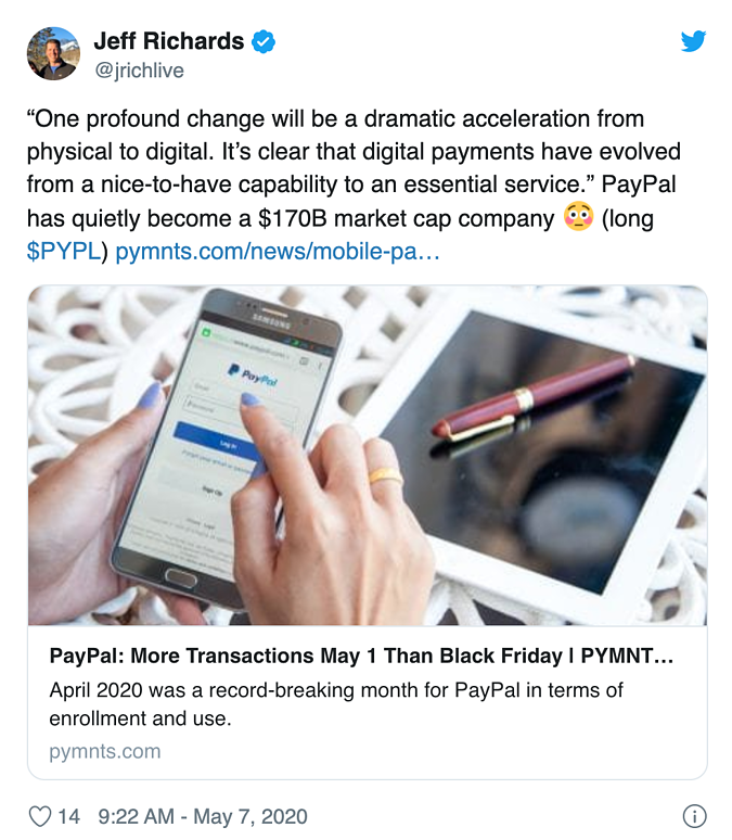 Jeff Richards PayPal Paystand digital payments