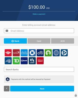 billing portal paystand
