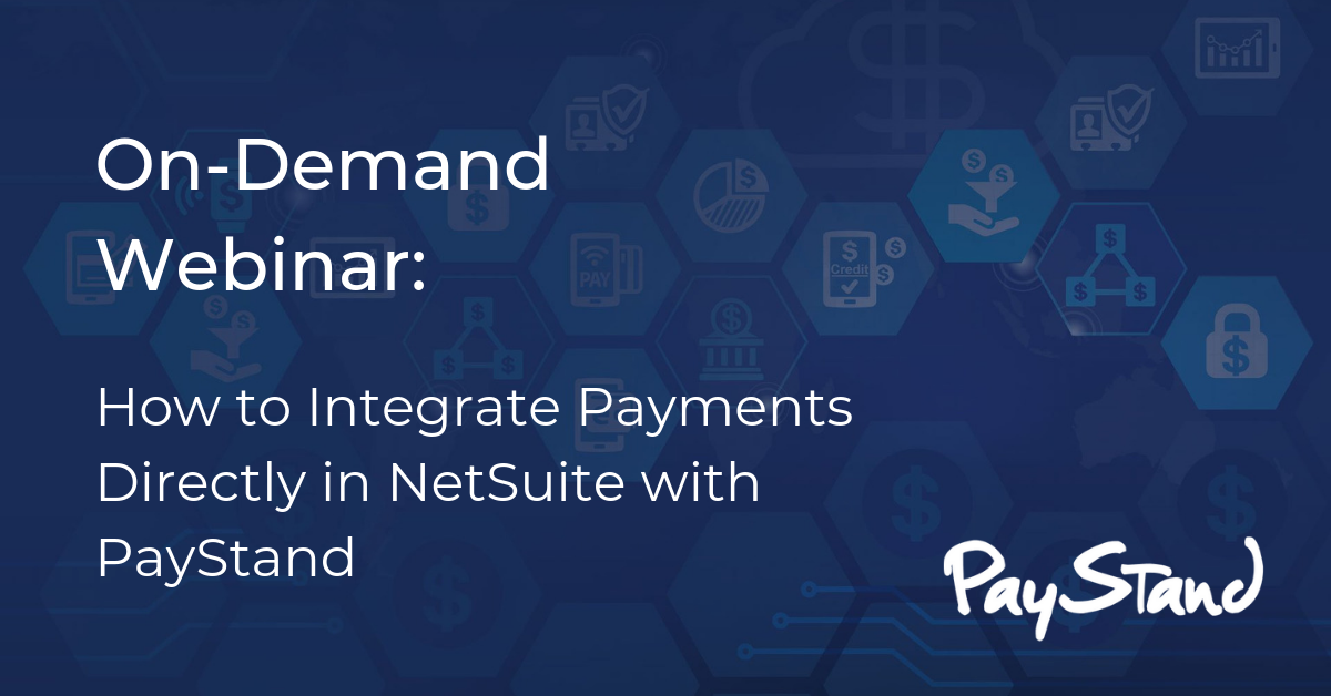 NetSuite - On-Demand Webinar