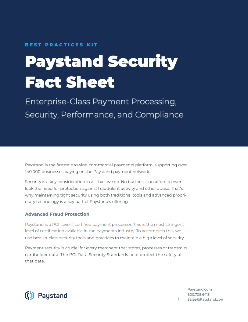 Security Fact Sheet Cover Image